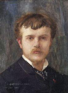 Autoportrait de Lepage peint en 1875.